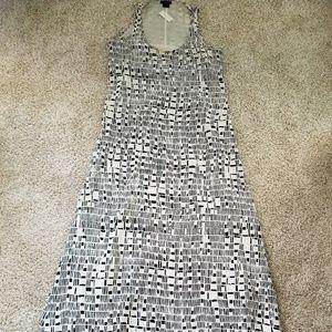 Like New Lined Silk Dress - Boho Cut